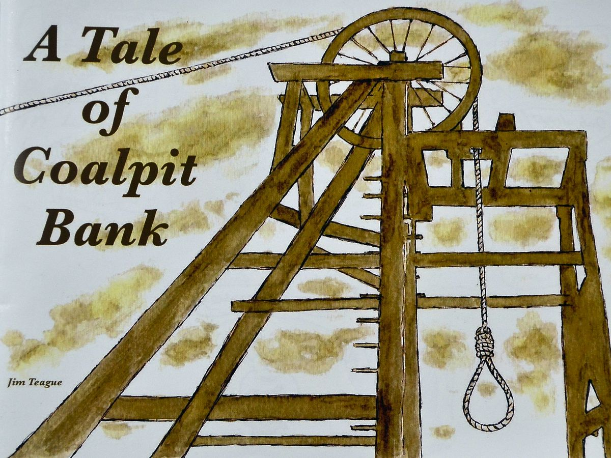 Book picture. A Tale of Coalport Bank by Jim Teague. Library code: book picture 2020. book 2020..