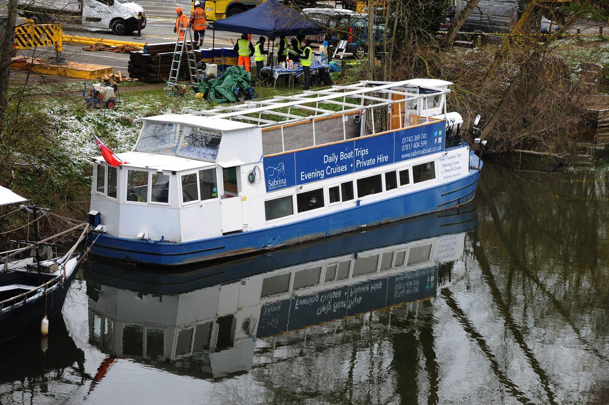 The Sabrina boat