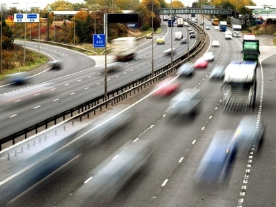 Motorway speed limit reductions could help to fight air pollution