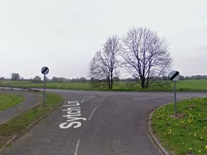 The accident happened at the junction of Sytch Lane and the A442 . Photo: Google StreetView.