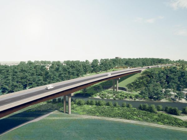 The viaduct at Shelton will be the biggest bridge ever built in the county