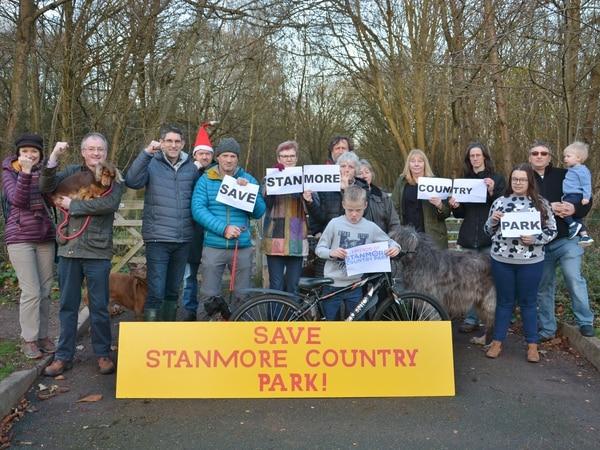 Campaigners launch action to save Bridgnorth park