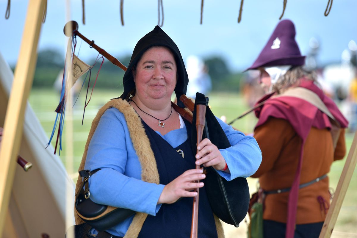 Shrewsbury's Battlefield 1403 hosted a spectacular weekend of re-enactment of the historic battle
