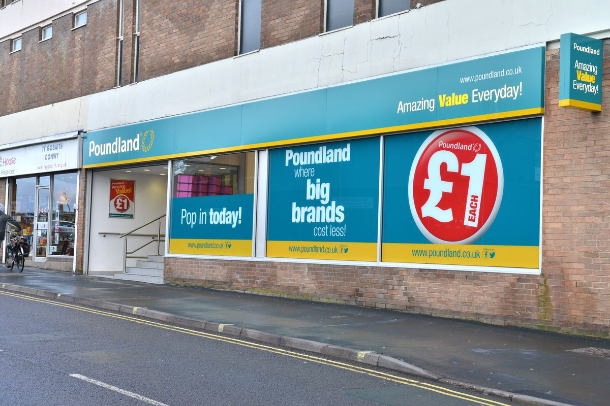 Poundland in Oswestry will reopen on Friday.