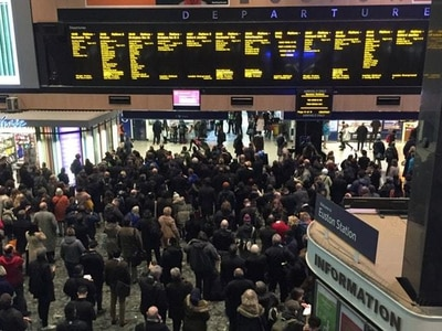 Euston Station to host lunch for 200 homeless on Christmas Day