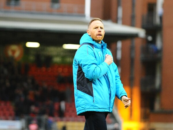 AFC Telford boss Gavin Cowan says pressure is all on Orient