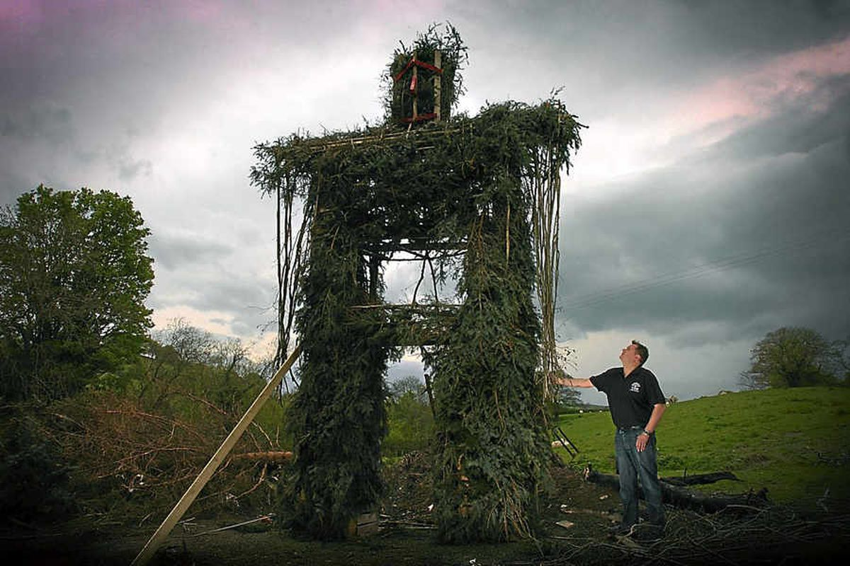 Wicker man attraction to take centre stage at Shropshire Sin-Eater Festival