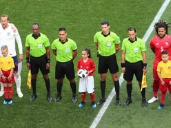 'Football mad' Alysia, eight, meets England heroes on World Cup pitch