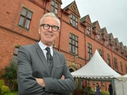 Celebrity hair stylist Andrew Collinge, cuts it as a speaker too at Ellesmere College event