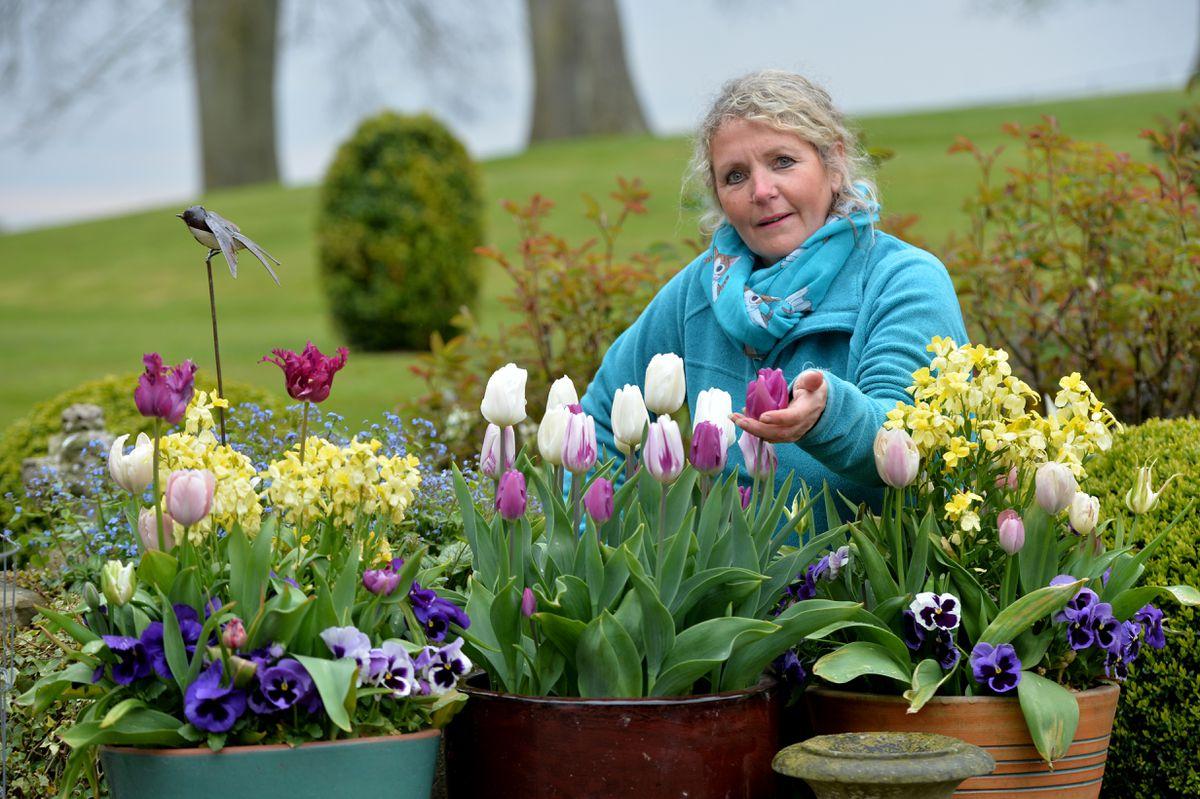 Head gardener Kay Reynold
