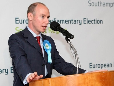 MEP Daniel Hannan gets trending hashtag after disputed claims on Irish history