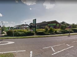 Thieves strike at Co-op petrol station at Ludlow