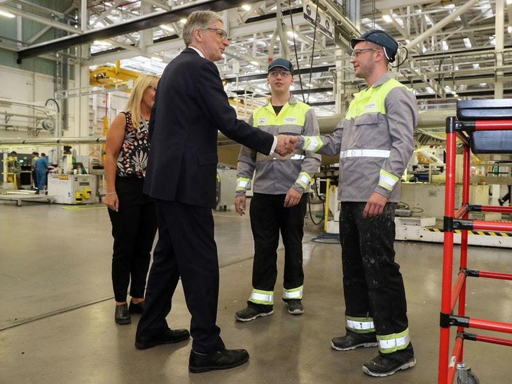 Bombardier secures 12m of funding to secure jobs in for Community motors hammond la