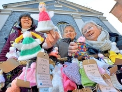 Angelic move from Bridgnorth knitters