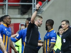 Shrewsbury boss Paul Hurst bemused by decision to appoint Robert Jones as referee for Wembley final