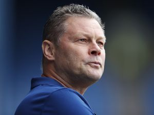 Steve Cotterill the head coach / manager of Shrewsbury Town. (AMA)