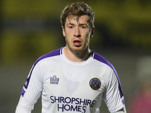 Josh Vela of Shrewsbury Town.