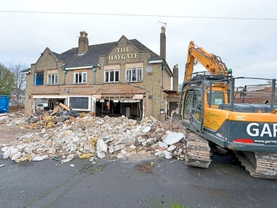 Bulldozers move in on Telford live music venue