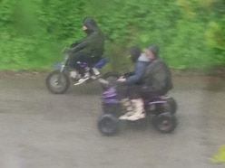 Police appeal to identify illegal Broseley bikers