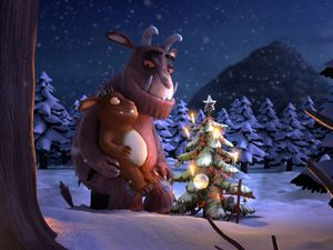The Gruffalo and his daughter animations