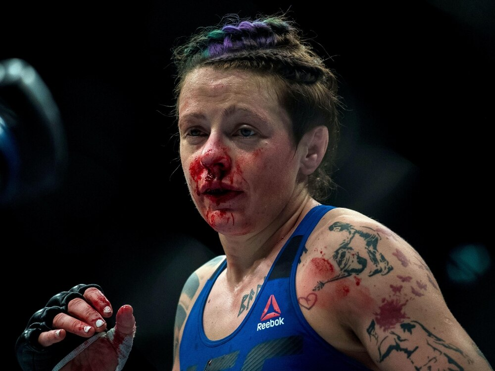 Joanne Calderwood passed out