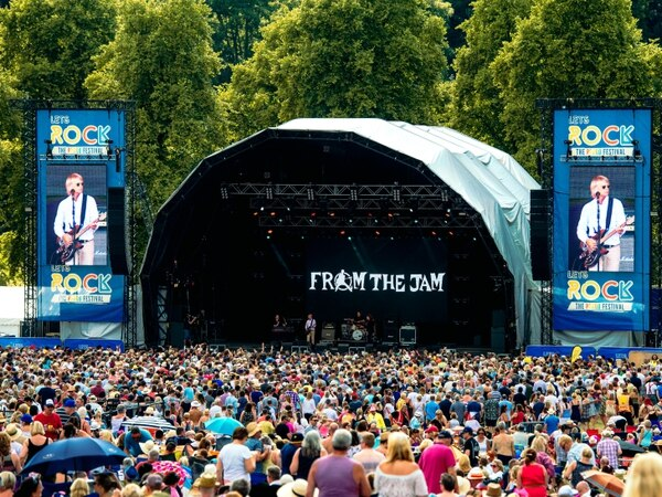 80s fans fill The Quarry for Let's Rock Shrewsbury - PICTURES