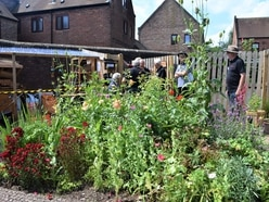 Men in Sheds dig in to bring Telford garden up to scratch