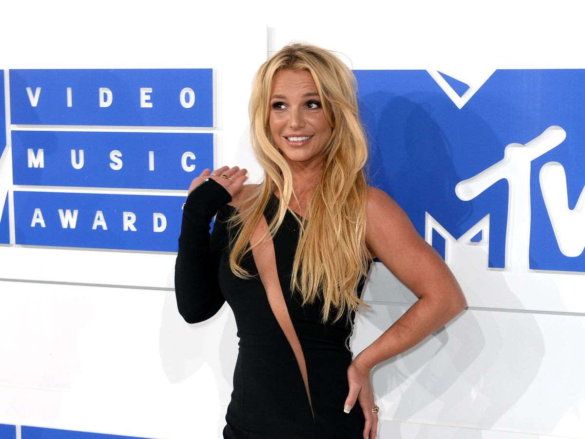 Britney Spears at the MTV awards