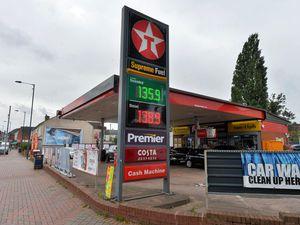 Texaco Petrol station.