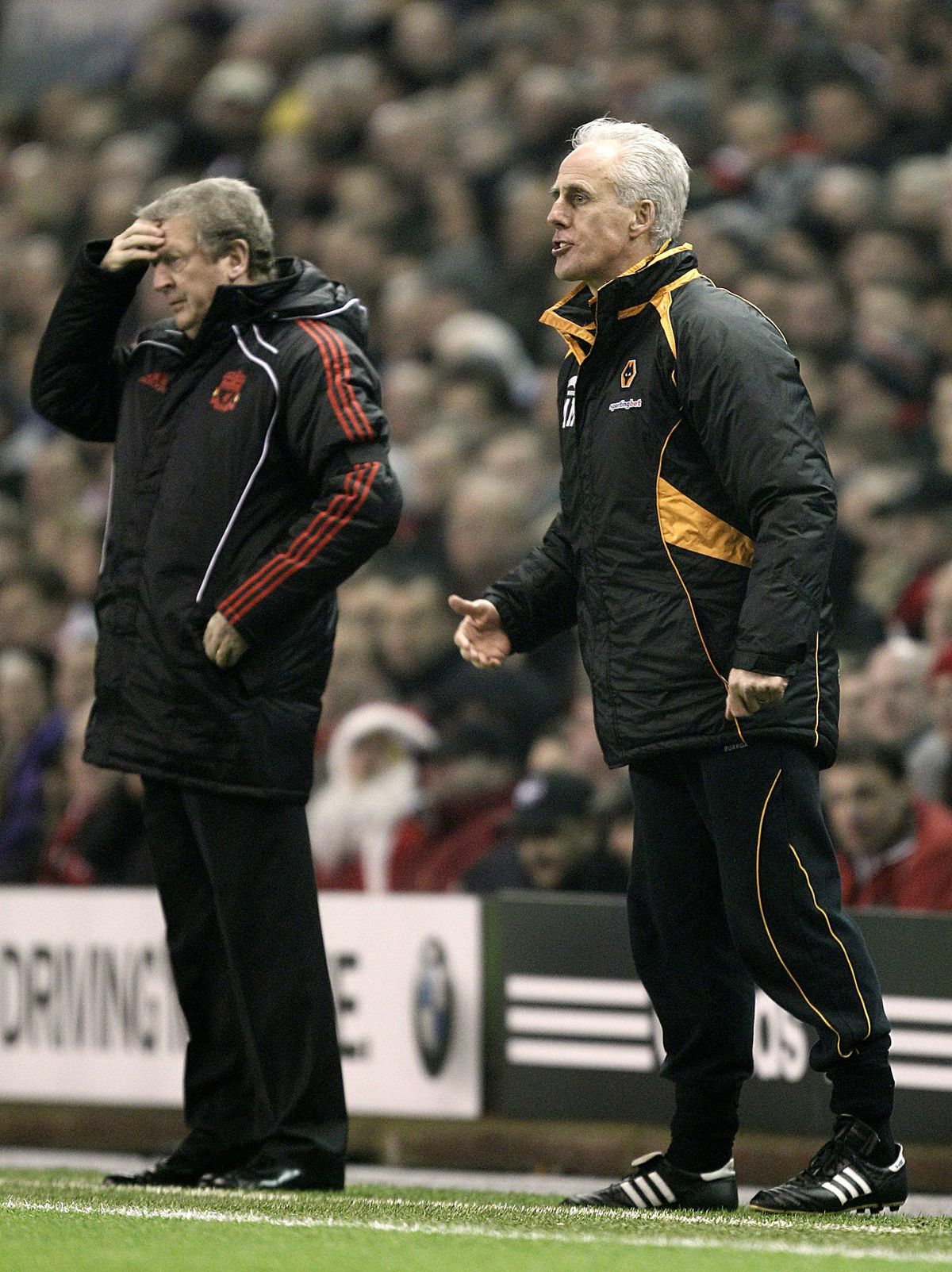 Wolverhampton Wanderers' manager Mick McCarthy