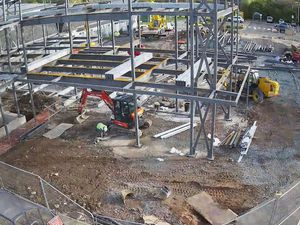 The latest time-lapse video shows the building progress on the new Headley Court Veterans' Orthopaedic Centre