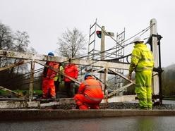Historic Ironbridge railway crossing gates work approved