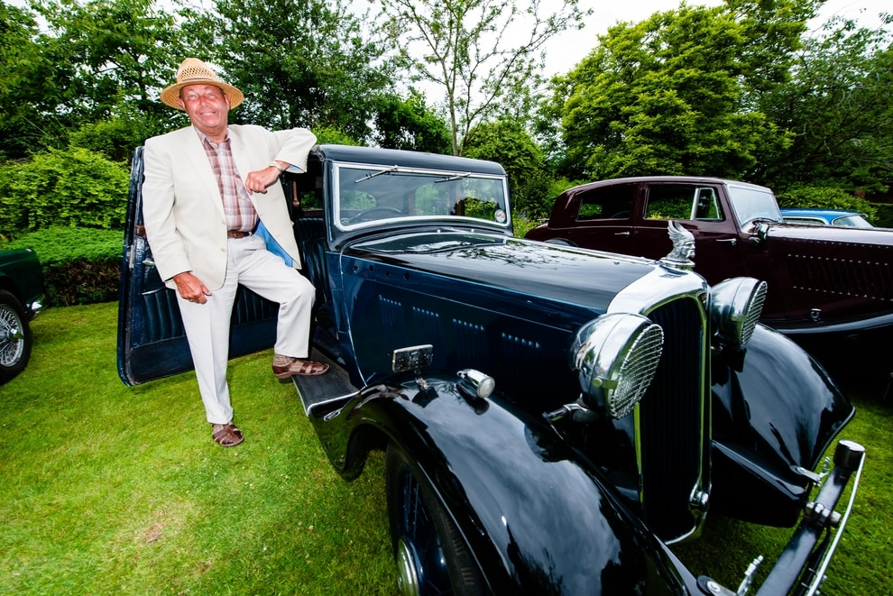 Ludstone Hall Classic Car