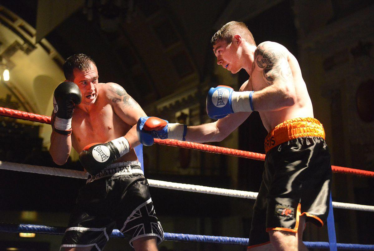 Craig Morris from Ludlow V Kevin McAuley from Stourbridge.