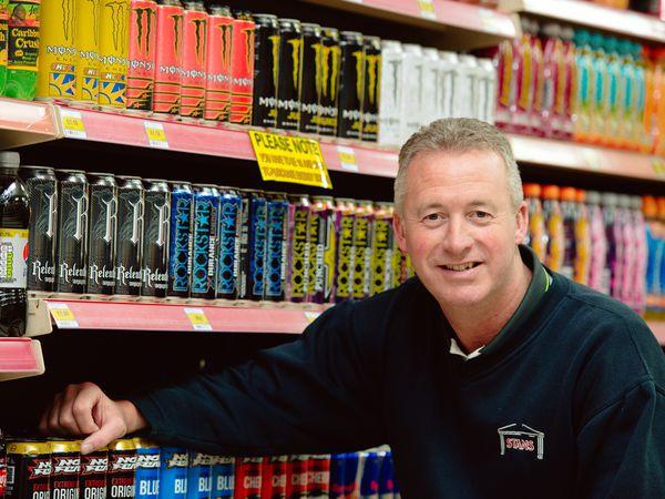 Andrew Faulks, partner of Stans Superstore in St Martins