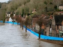 Shropshire flooding: Danger to life warning for Ironbridge as Shrewsbury town centre flooded - LIVE