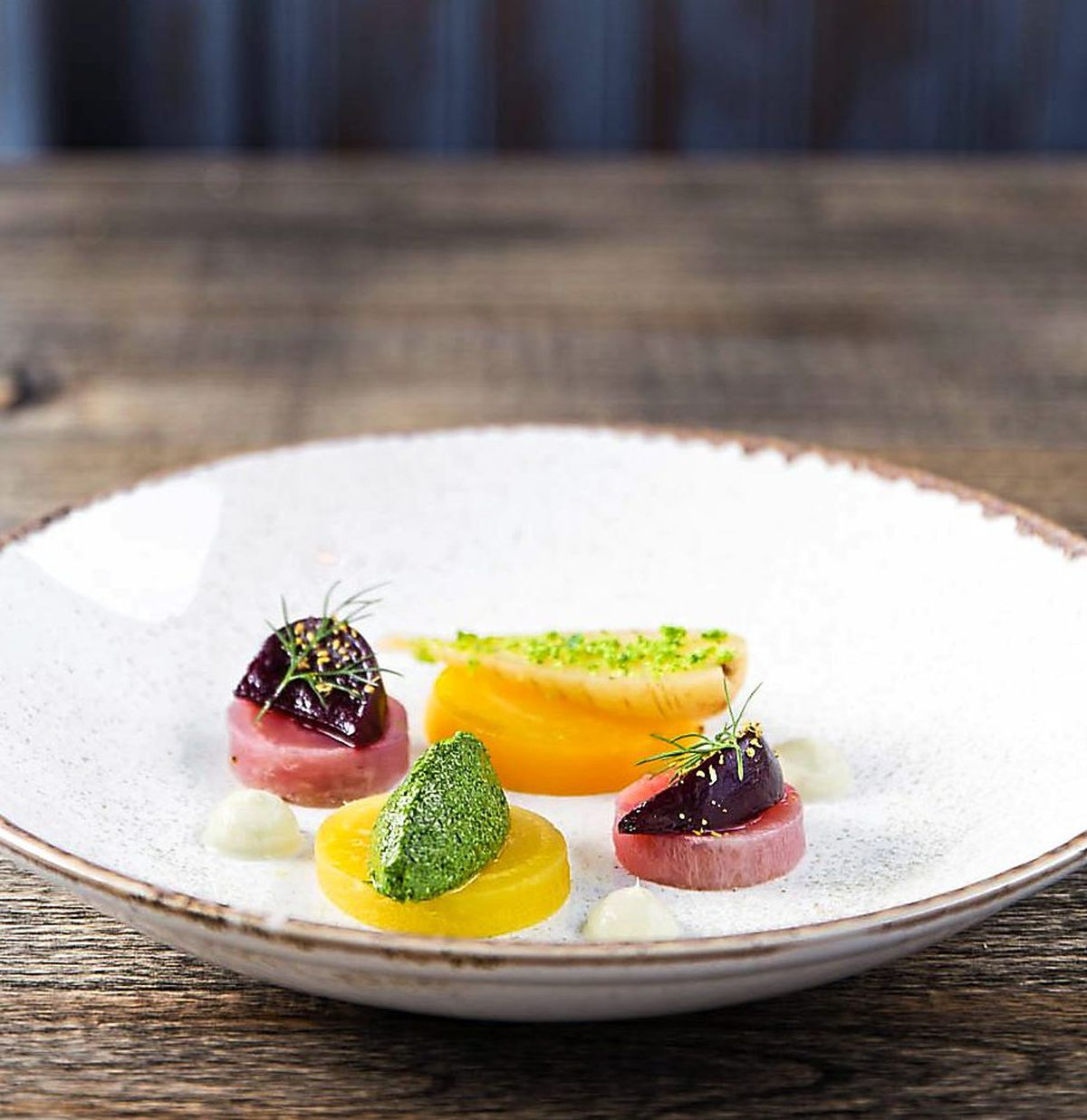 Hard to beet – the beetroot and carrot starter