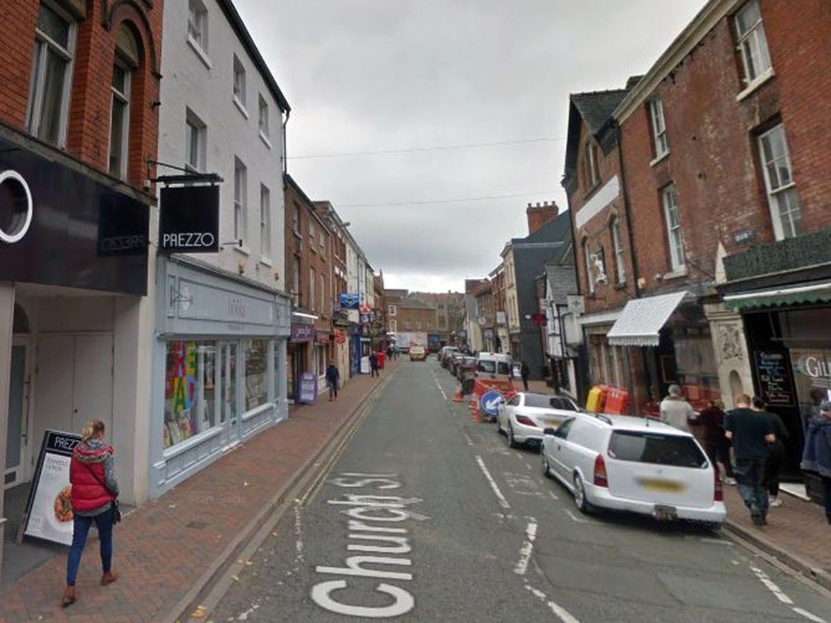 Church Street, Oswestry. Photo: Google StreetView.