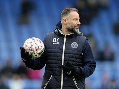 Coach Danny Coyne leaves Shrewsbury Town