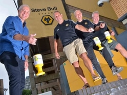 Stuart puts best foot forward to help Bully's charity