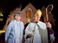 Warm welcome for new Market Drayton vicar