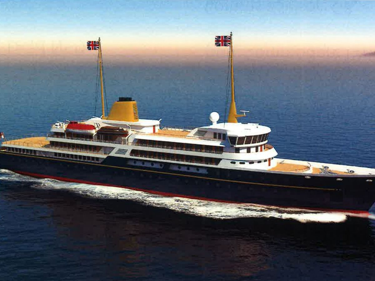 An artist's impression of the new national flagship