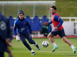England's Sam Johnstone (left) and Ben Chilwell