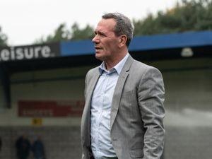 AFC Telford United Interim Manager Dennis Greene.
