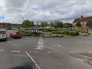 Heathgates Roundabout in Shrewsbury