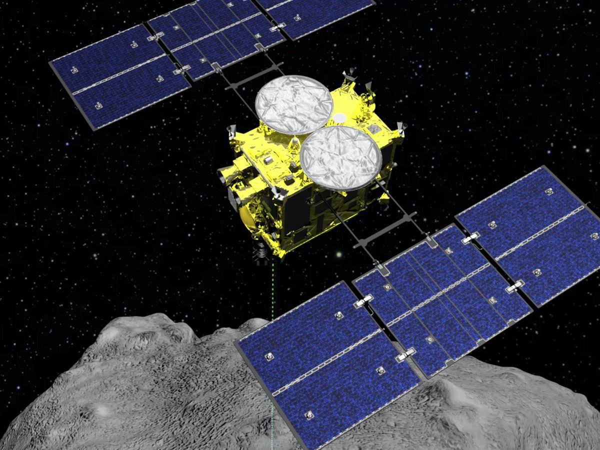 The Hayabusa2 spacecraft