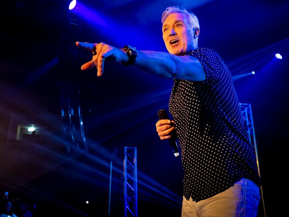 Martin Kemp releases free NHS tickets for Wolverhampton and Shrewsbury shows