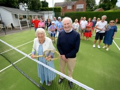 Claverley Tennis Club's pristine new greens well-used on successful open day