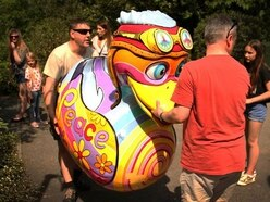 £250 reward offered after giant Ironbridge duck is thrown in river - with pictures