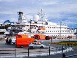Passengers must stay on cruise ship in Norwegian harbour
